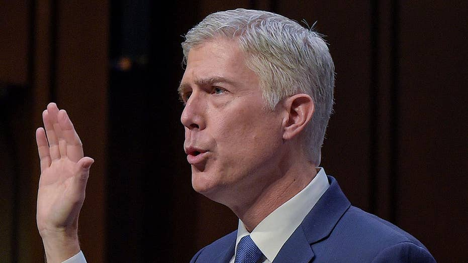 Cornyn: Gorsuch confirmation will be a test for Democrats
