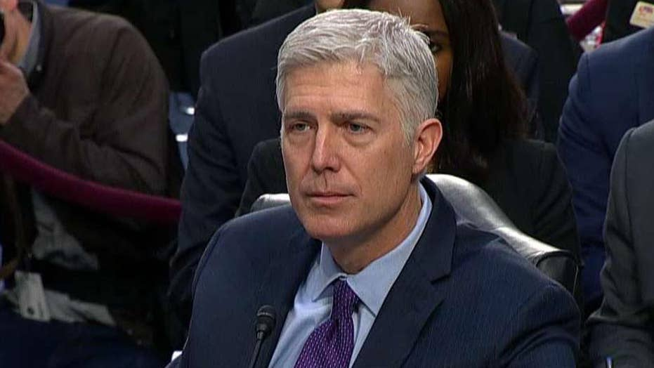 Gorsuch addresses controversy over maternity leave question