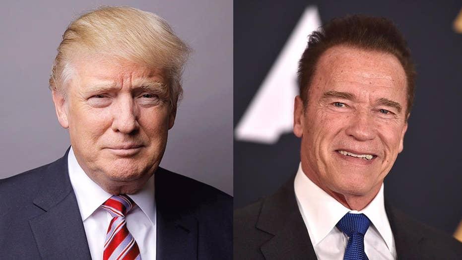 Schwarzenegger skewers Trump on approval numbers