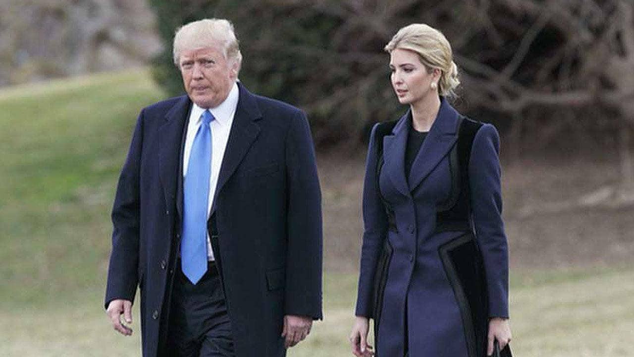 news ivanka trump becomes official government employee
