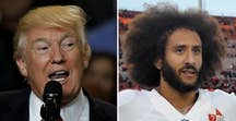 President takes credit for controversial NFL quarterback's free-agent status