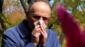 For many, the change of season means sneezing, itchy eyes and congestion