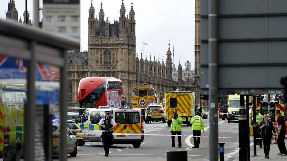 Witness: 'People on the ground' along Westminster Bridge