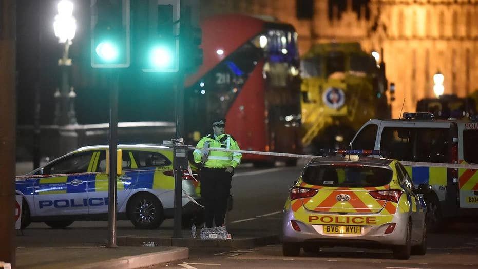 Attack outside the UK parliament leaves four dead
