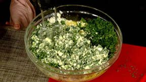 Cooking with 'Friends': The Emanuel family's spanakopita
