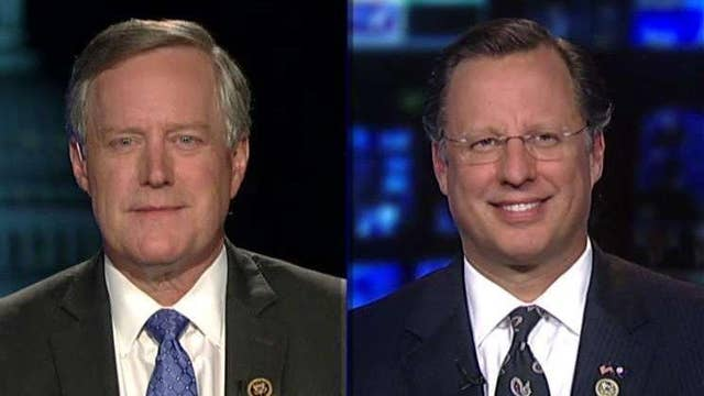 Rep. Meadows 'optimistic' GOP can change health care bill