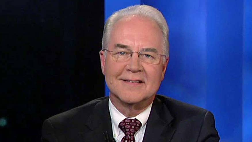 Exclusive: HHS Secretary Tom Price on why the proposed Obamacare replacement plan, the American Health Care Act, lives up to Trump's promises, could give Americans access to universal coverage and why groups of Republicans have opposed it #Tucker