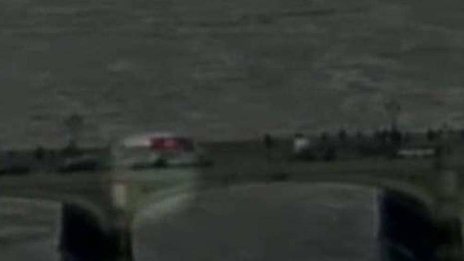 Woman jumps into River Thames to avoid terrorist's car
