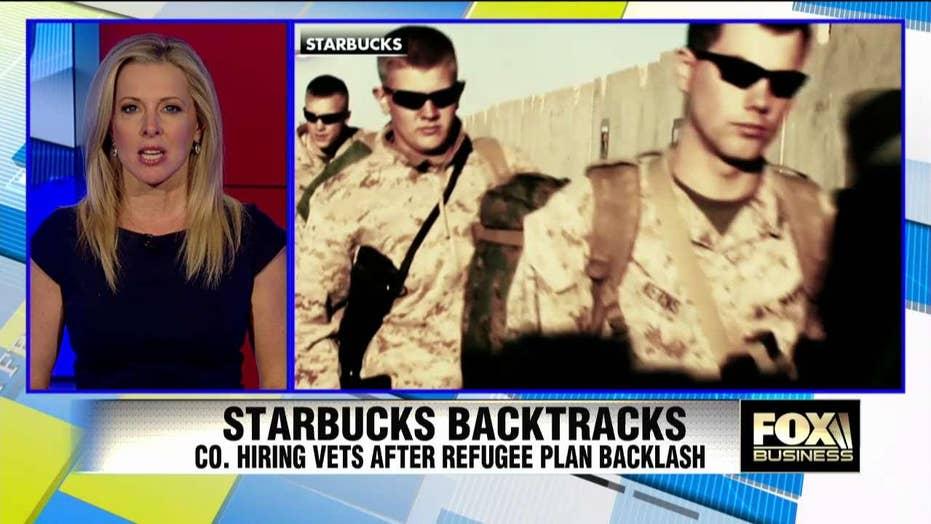 Starbucks hiring veterans