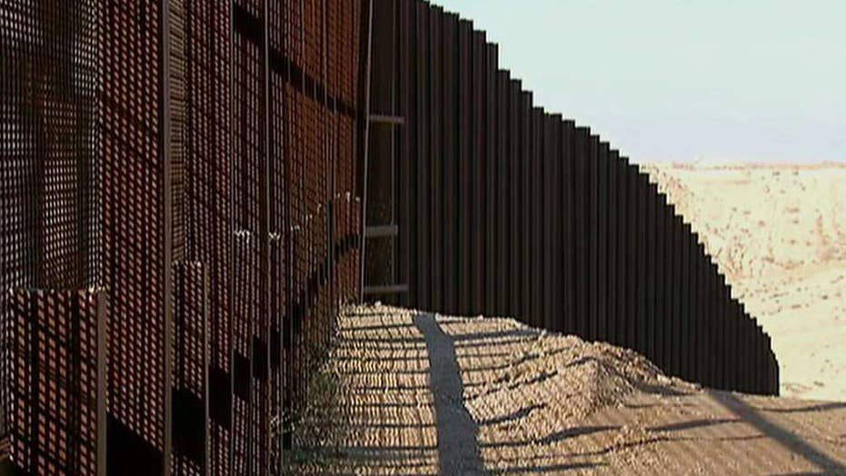 Companies bidding to build the border wall