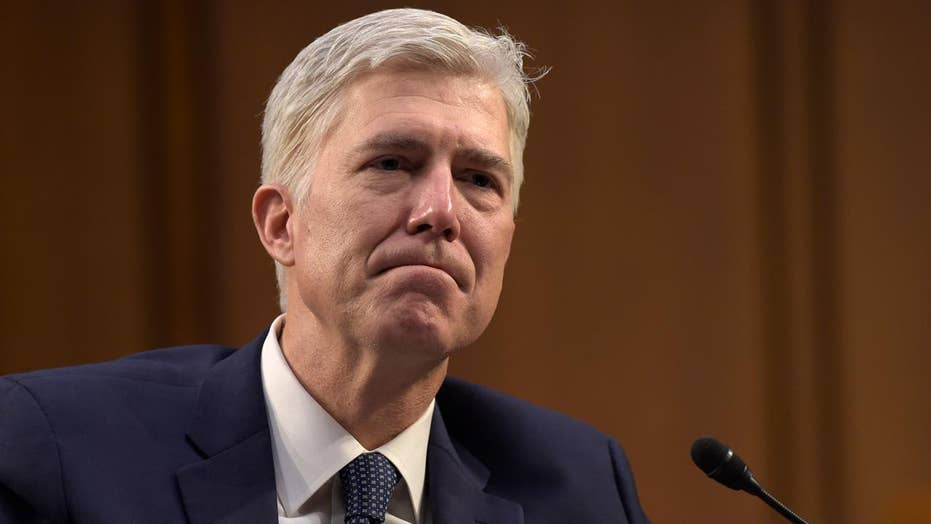 Breaking down Democratic opposition to Judge Gorsuch