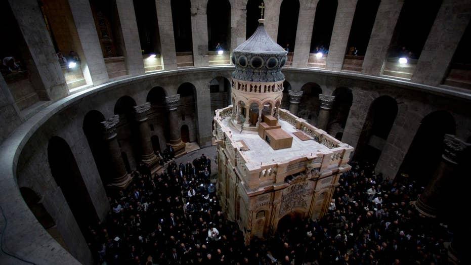 $4 million restoration of Jesus' tomb complete