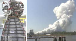 NASA test fires core stage engine for the powerful SLS rocket aiming to take humans to Mars by the 2030s