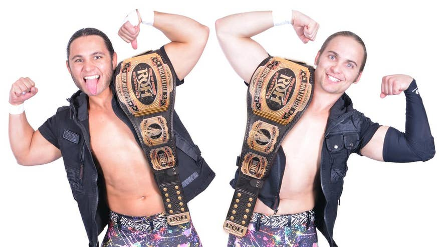 Beyond the Ring with The Young Bucks: Tag-team brothers The Young Bucks discuss their rise to fame in professional wrestling while balancing wrestling and family life
