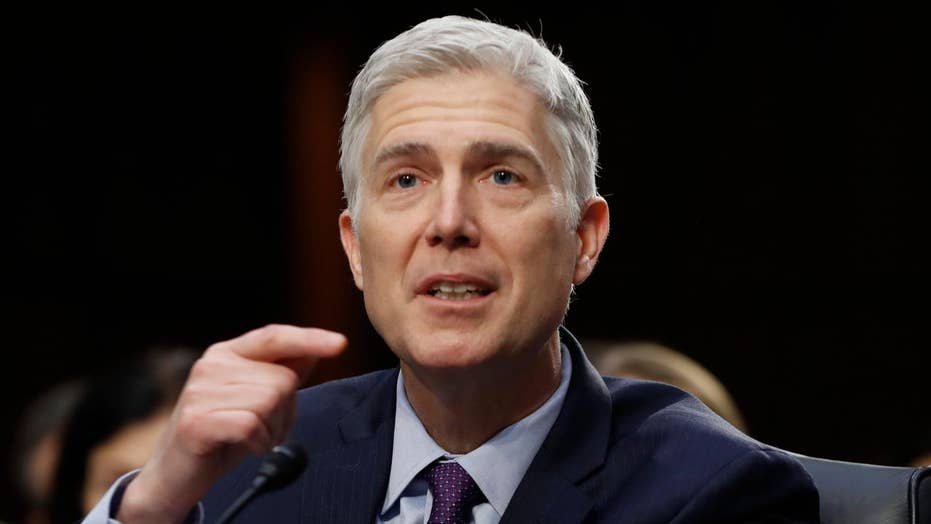 Democrats vowing to filibuster Gorsuch nomination