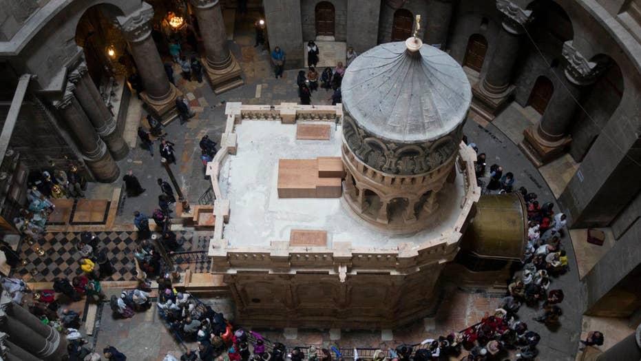 Jesus' tomb resurrected before Easter