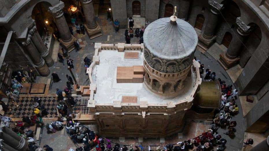 Jesus' tomb resurrected before Easter