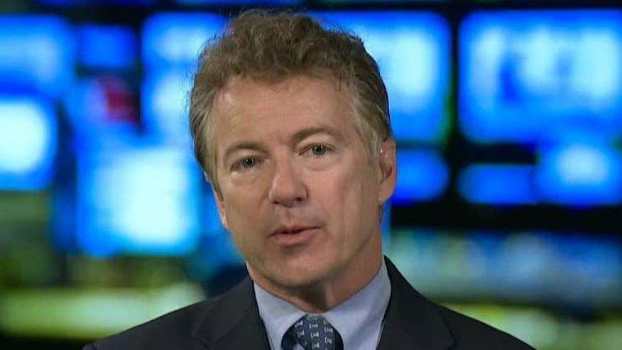 Sen. Rand Paul reacts on 'The O'Reilly Factor'