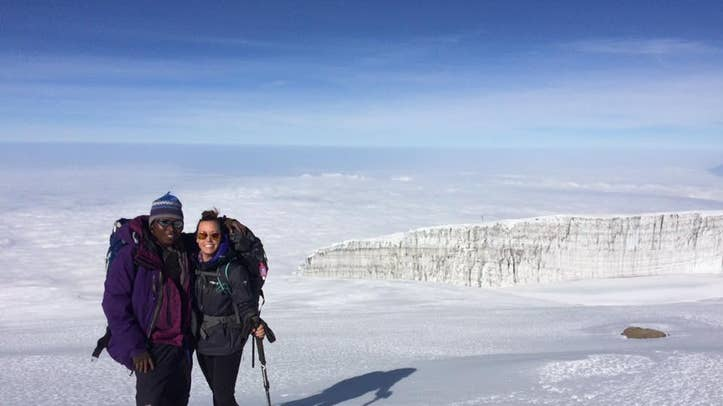 Climbers of all skill levels climbed Africa's tallest mountain last year as a part of an exhibition led by Radiating Hope, a non-profit with a mission to bring radiation machines to underserved countries
