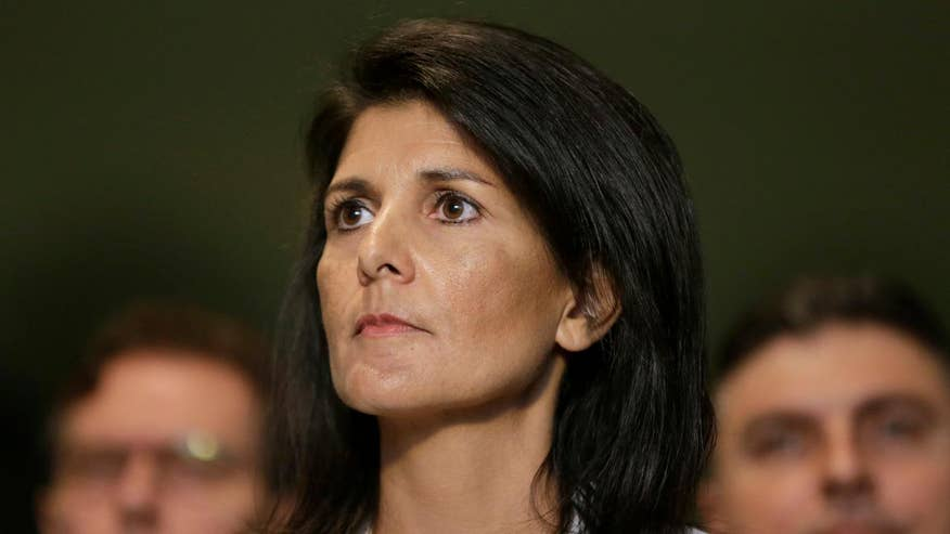U.N. Ambassador Nikki Haley warns about the threat of nuclear weapons