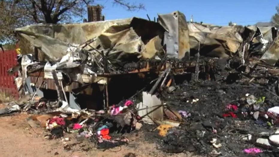 House fire in New Mexico kills three year old, destroys home