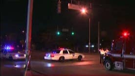 The two Miami officers are expected to be okay, the suspects are still at large