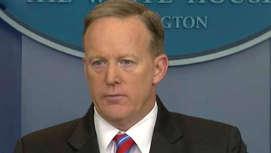 Spicer Spicer pushes back against 'false report' that White House sought to block the former acting attorney general's appearance before the House Intelligence Committee