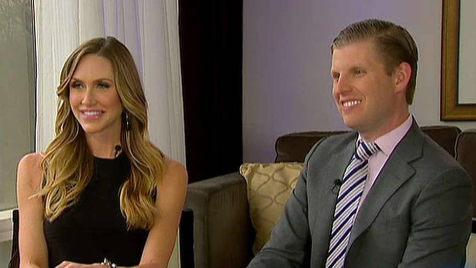 Eric and Lara Trump expecting their first child