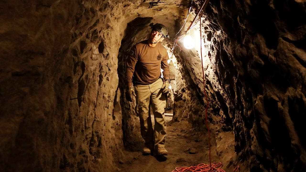 Drug cartels reusing Mexican tunnels already discovered ...