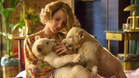 'The Zookeeper's Wife' is based on the true story of Antonina Zabinski who saved hundreds of Jews from the Nazis during World War II