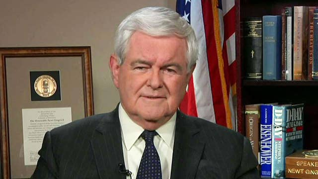 Gingrich: Why aren't Clinton ties part of Russia probe?