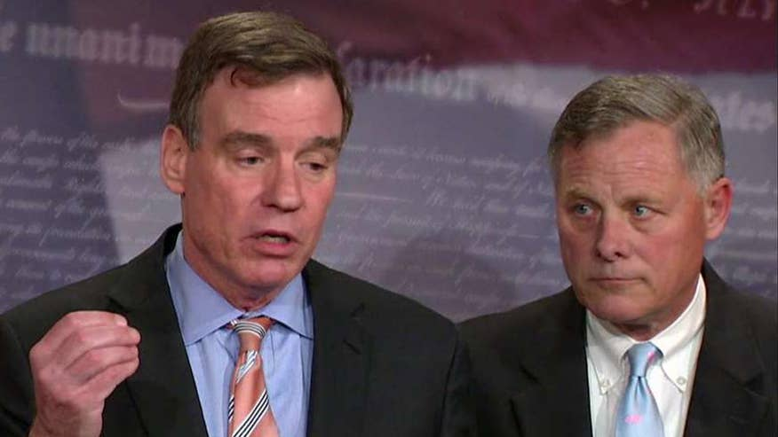 Burr and Warner tried to reassure the American people that their investigation will be professional and not partisan; Mike Emanuel explains on 'Special Report'