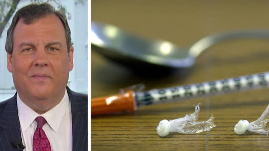 Gov. Christie joins WH task force on opioid addiction