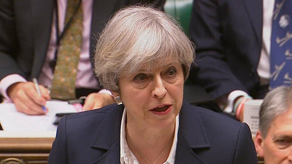 Theresa May officially triggers Brexit process
