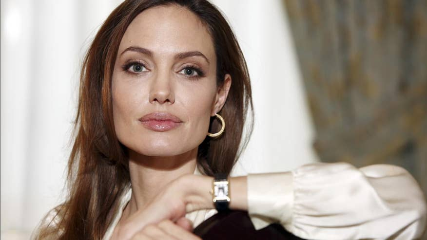 Book: Angelina Jolie was drug-tested for Tomb Raider
