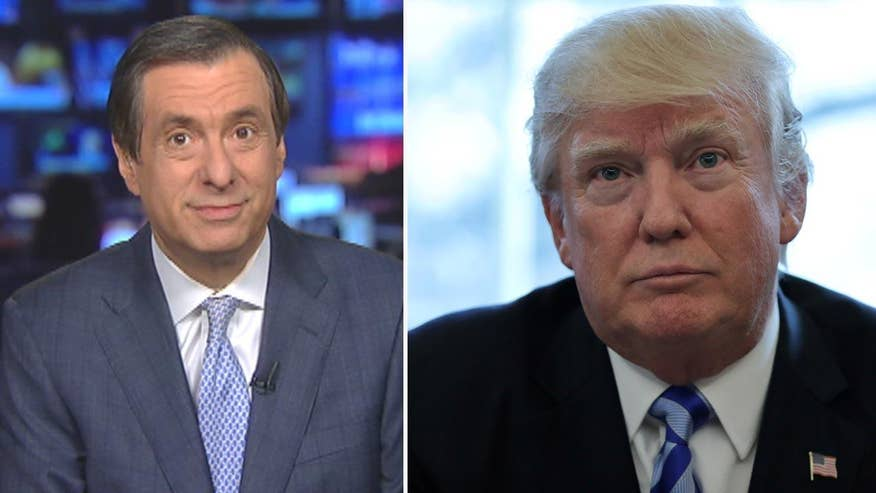 'MediaBuzz' host Howard Kurtz weighs in on Donald Trump's threat to fight the House Freedom Caucus in 2018