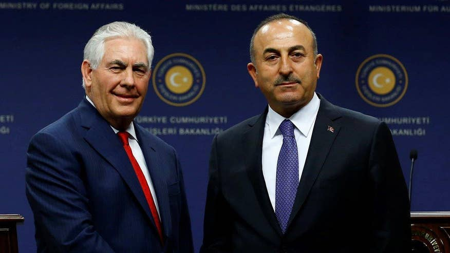 Turkey says it looks forward to a new energy in its relationship with the U.S. despite still being at odds over old problems; Rich Edson reports for 'Special Report'
