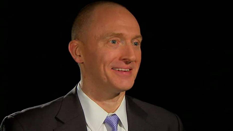 Carter Page denies colluding with Putin