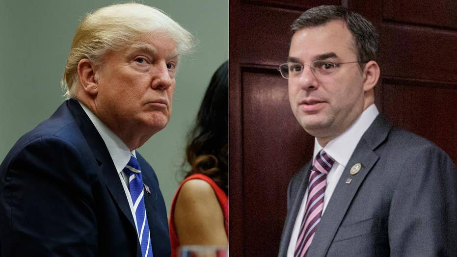 Justin Amash swipes back at President Trump on Twitter