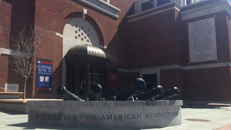 Revolutionary War brought to life in new museum