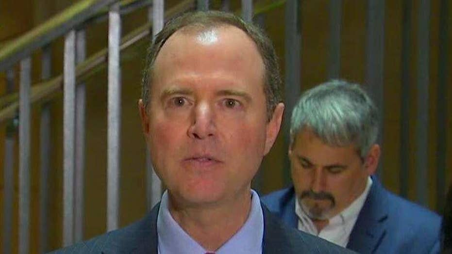 Schiff asks if White House is trying to 'launder' info
