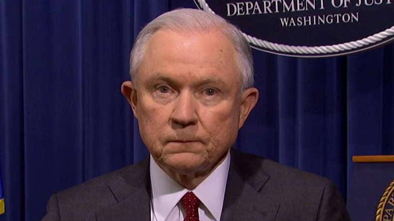 Sessions: Border crossings down 60 percent due to 'Trump's strong leadership'