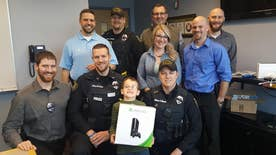 In hopes of making them 'happy,' a 7-year-old Wisconsin boy donated his Nintendo Wii to the Wausau Police Department, to help officers cope with the loss of one of their 'brothers'