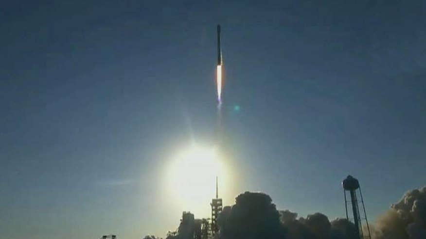 The launch is being hailed as a massive leap forward in the effort to make spaceflight more affordable