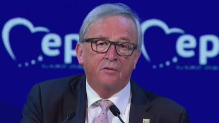 EU chief threatens to campaign for US breakup after Brexit