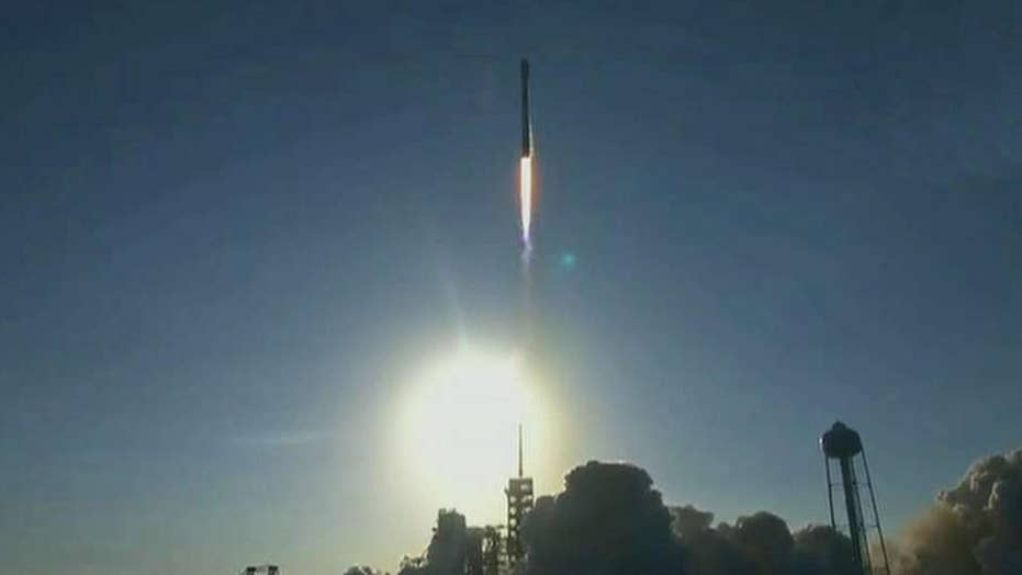 SpaceX launches first-ever refurbished rocket