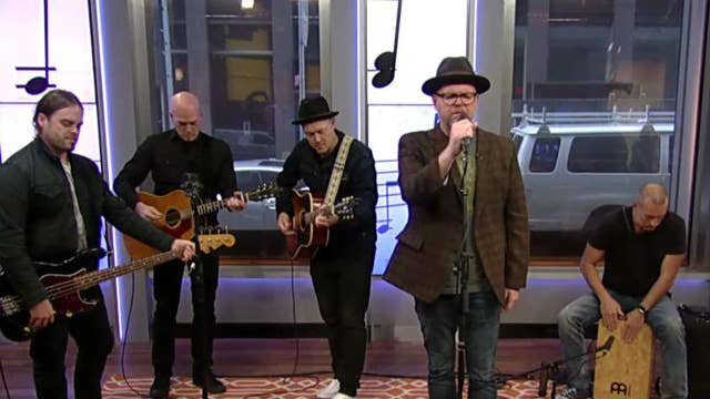 Christian band MercyMe performs 'Even If'