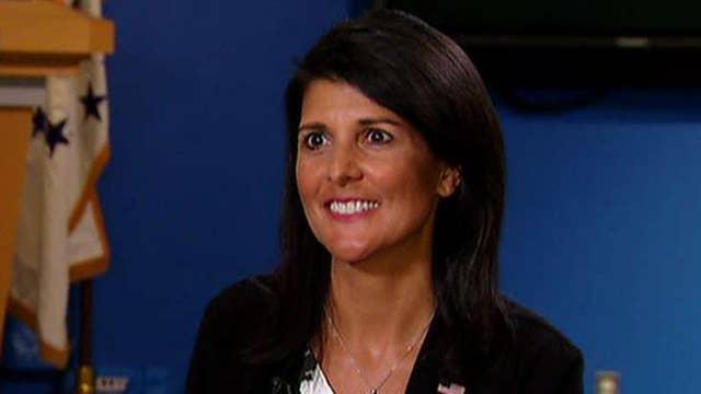 Eric Shawn exclusive: Amb. Haley calls Assad 'war criminal'