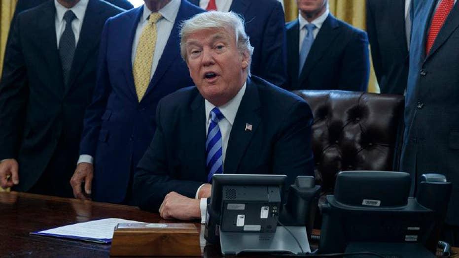 Trump pushes tax reform as shutdown deadline looms