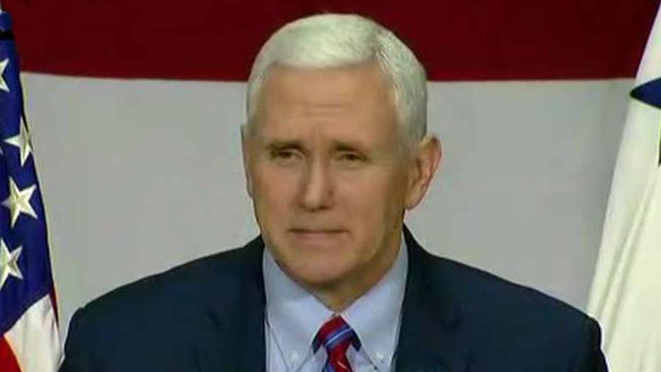Mike Pence jokes about his wife's 'dinner plans'